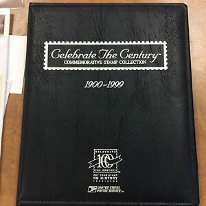 Celebrate-The-CENTURY-Collection-w-Album-10-Sheets-of-MINT-stamps-face-44-40