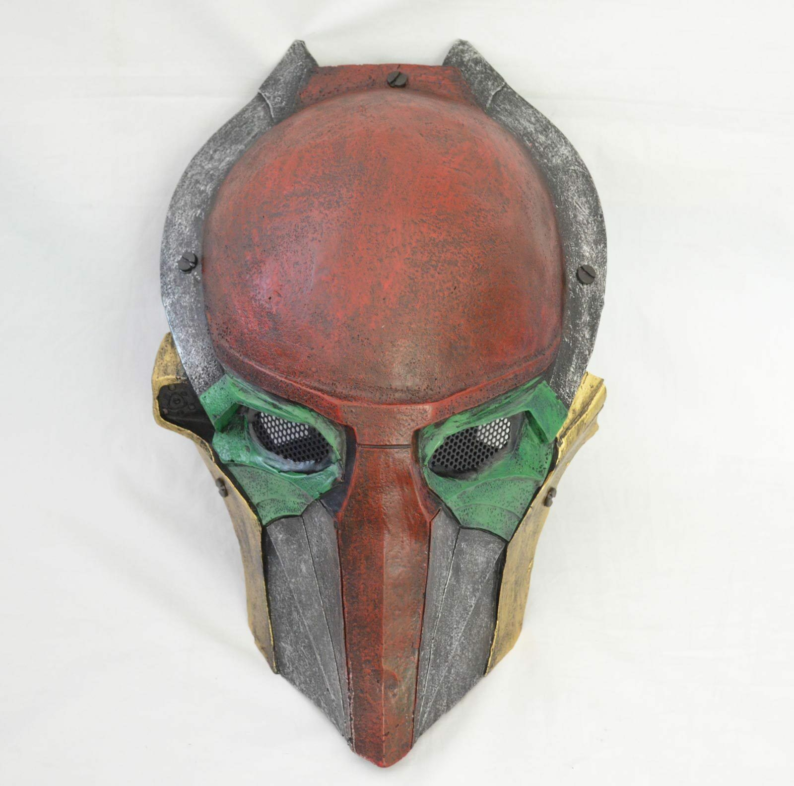 Paintball Airsoft Full Face Prossoection Alien Vs Prossoator Mask Cosplay Prop A0125