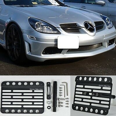 Multi Angle Tow Hook License Plate Holder 06-11 Mercedes Benz SLK-Class  R171
