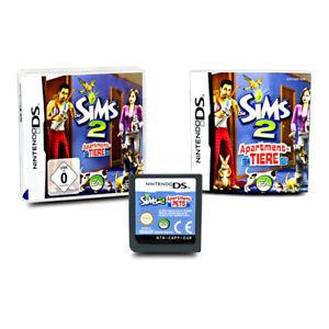 Nintendo-Jeu-DS-Die-Sims-2-Bestcityhome-Animaux-Emballage-D-039-Origine-avec-Manuel