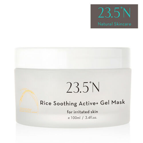 23.5N Rice Soothing Active+ Gel DRYIRRITATED SKIN Jelly Facial Mask 100ml NEW