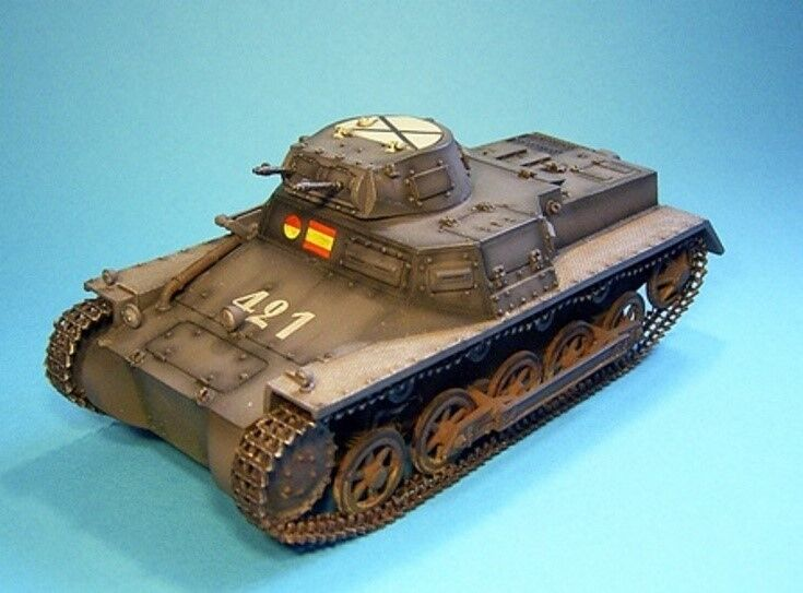 John Jenkins Designs Soldiers COND-02(421) PzKpfw Ausf B Collectible Tank 1 30