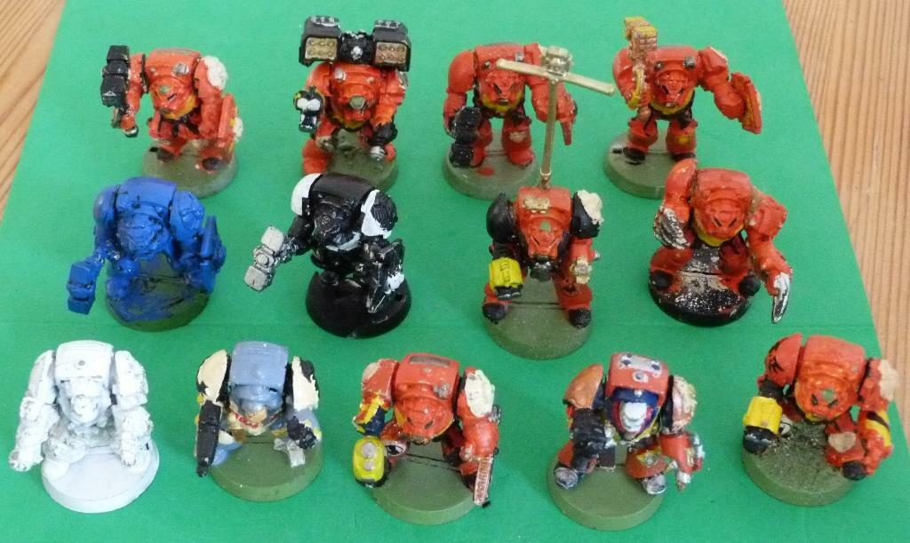 Games Workshop Space Marine Terminators x 13