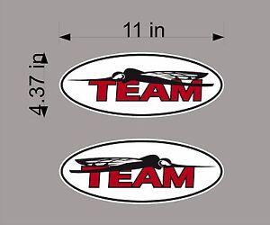 "16/"" Vinyl Vehicle Watercraft Graphic Decals PAIR Logos Mercury Boats USA"