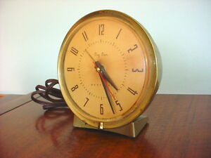 Early Vintage Big Ben Alarm Desk Clock Electric Westclox