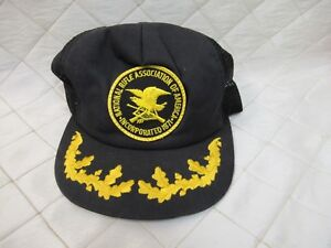 62b84459cdc9c Image is loading Vintage-Snapback-Trucker-Hat-Cap-National-Rifle-Association -