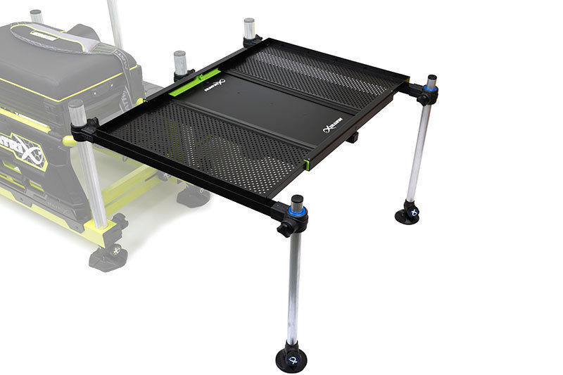 Fox Matrix Tray XL Extending side Tray Matrix inc legs Carp Fishing Seatbox Accessory GMB152 706099