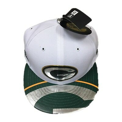 d60b54cc9 NWT New Green Bay Packers New Era Fitted Stage Draft Day 2017 Hat Cap Size 7  1 8