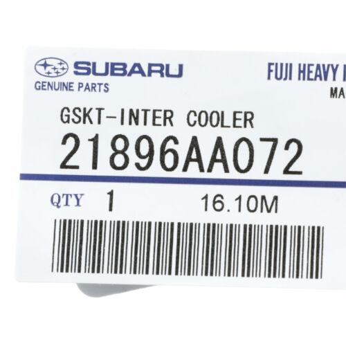 OEM 2002-2018 Subaru Impreza WRX STi Intercooler Gasket NEW 21896AA072