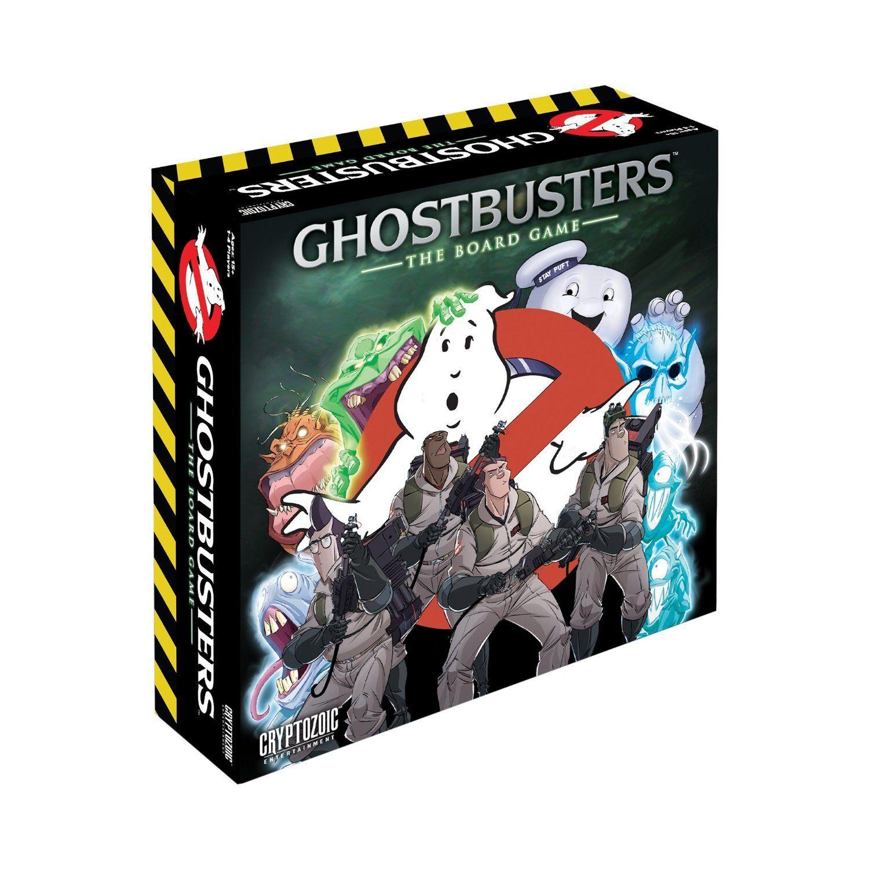 Ghostbusters El Juego De Tablero De Juego De Mesa Cryptozoic