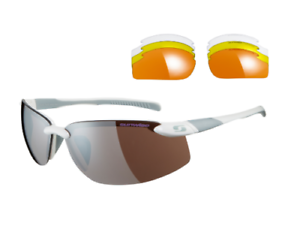 b4720cb7a5 Image is loading Sunwise-Pacific-White-Sunglasses-with-4-Interchangeable- Lenses