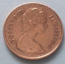 1973 la reina Isabel II decimal medio centavo