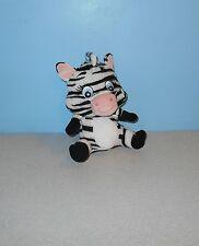 "Baby Garanimals 7"" Bean Plush Baby Blue Eyes Doll in Zebra Costume"