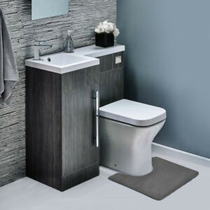 Memory-Foam-Contour-Bathroom-Toilet-Mat-Rug-Soft-Anti-Fatigue-and-Absorbent