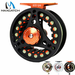 Maxcatch-3-4-5-6-7-8wt-Pre-Loaded-Fly-Fishing-Reel-with-Fly-Line-Backing-Leader