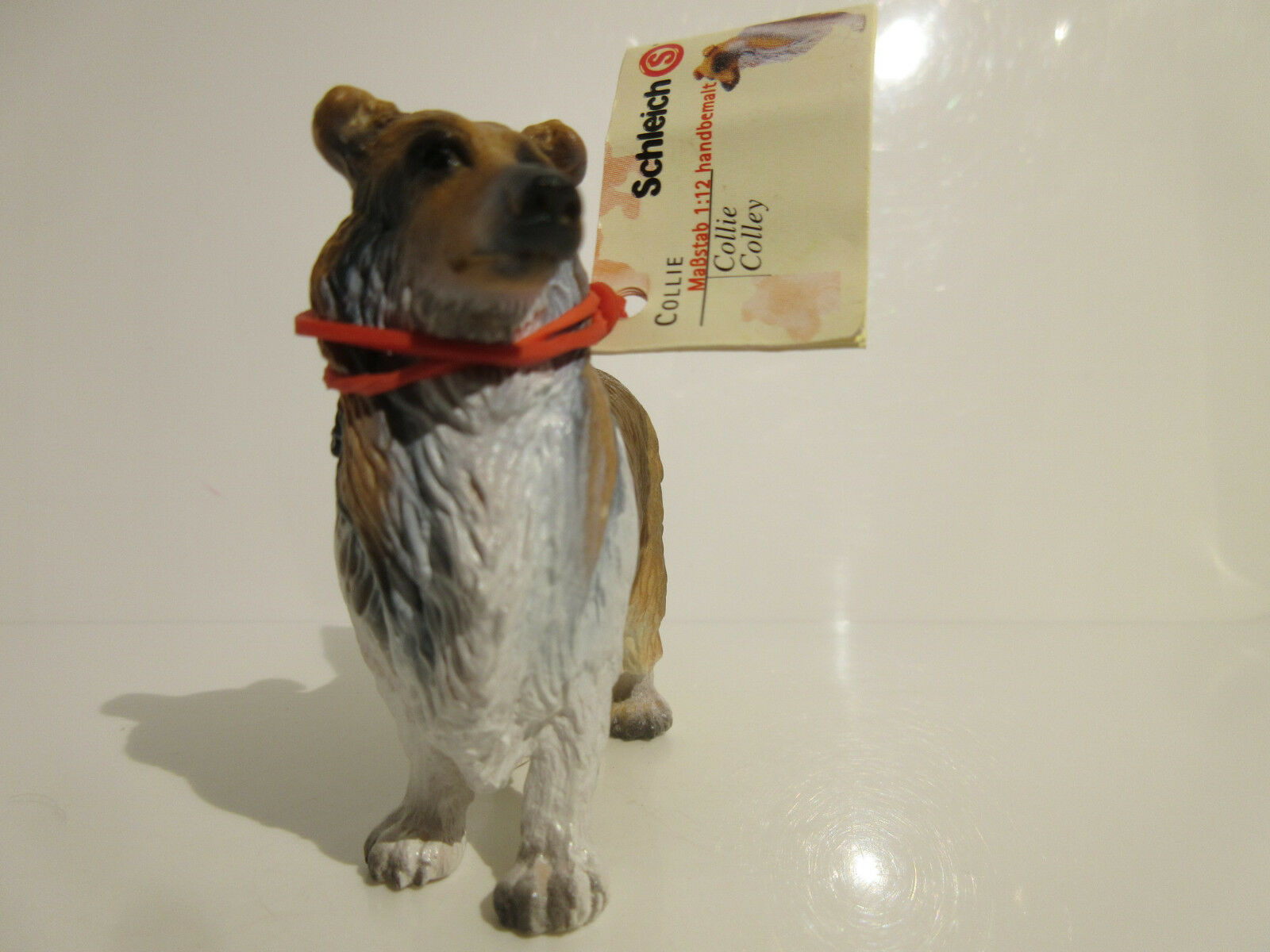 16304 Schleich Dog: Collie  booklet  MADE IN GERMANY  ref: 21P138