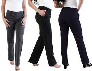 Nina Escuela Pantalones Uniforme Escolar Mujer Trabajo Oficina Formal A Medida Ebay