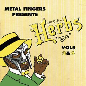 Vol-3-4-Special-Herbs-Mf-Doom-2014-Vinyl-NEUF