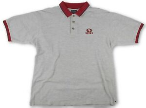 Vintage NFL San Francisco 49ers Niners The Edge Golf Polo Shirt Mens ... a1597be04