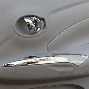 Chrome Interior Door Armrest Window Lift Cover For Nissan Versa