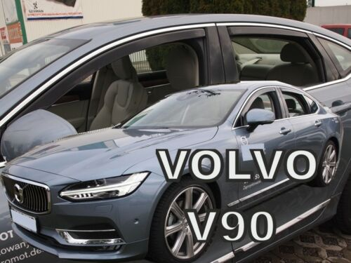 HEKO 31242 saute vent 4 Pcs Pour Volvo s90 4 türig année de construction à Partir De 2016