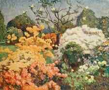A4 Photo Claus Emile 1849 1924 The Studio 1915 Azaleas Kew Gardens Print Poster