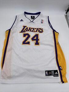 Vintage Authentic Adidas KOBE BRYANT #24 LA Lakers Jersey Youth XL ...