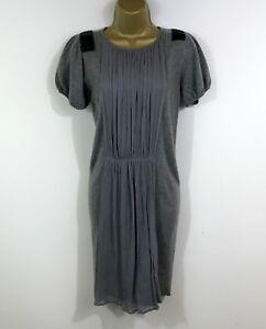 Malene-Birger-Cashmere-amp-Wool-Dress-UK-Size-10-Grey-Winter-Knit-Womens