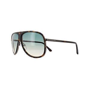 8f49fc3afae Tom Ford Sunglasses 0462 Chris 56P Havana Black Green Gradient ...
