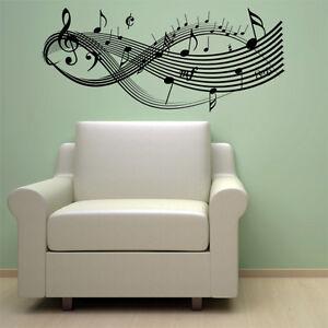CLEF-MUSIC-NOTES-VINYL-WALL-DECAL-STICKER-ART-DECOR-NEW