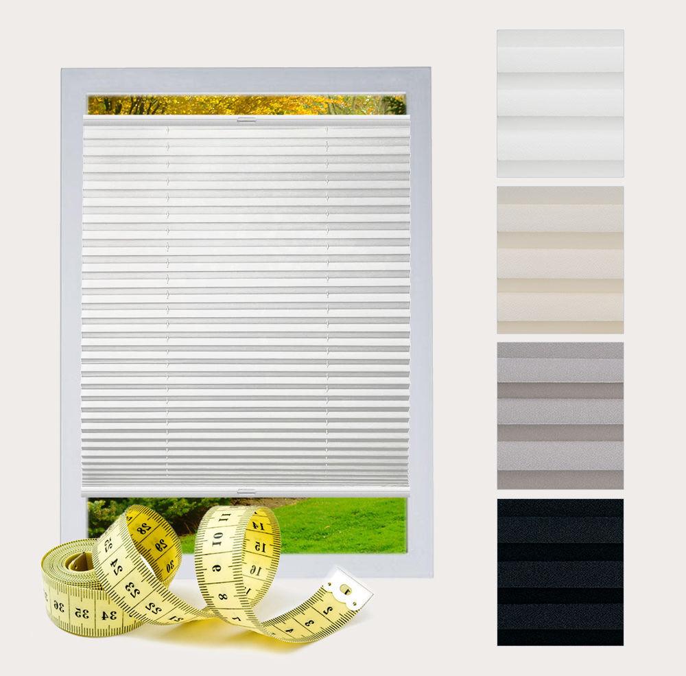 Klemmfix plisado-persiana sin taladrar privacidad persiana a medida ventana easyfix