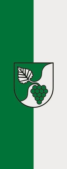 Fahne Flagge Aspach bei Backnang im Hochformat verschiedene Größen