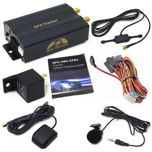 Car Gps Tracker >> Mini Realtime GPS Car Tracker Locator GPRS GSM Tracking Device System Vehicle RF | eBay
