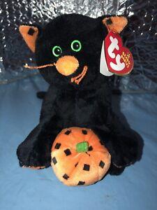 Ty Beanie Baby Superstition - MWMT (Cat 2006) Halloween
