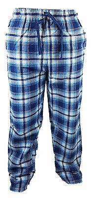 2019 Nuovo Stile Bhs Sleeplounge Blu Uomini Pigiama 100% Cotone Comfort Notte Pantaloni Per Spedizioni Veloci