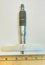 Mitutoyo 62557 Depth Gauge Micrometer 001 Machinist Tool