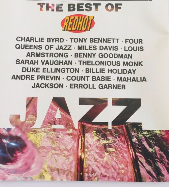 Red Hot Jazz - Various Artists - All the Icons - 14 Track Compilation - CD