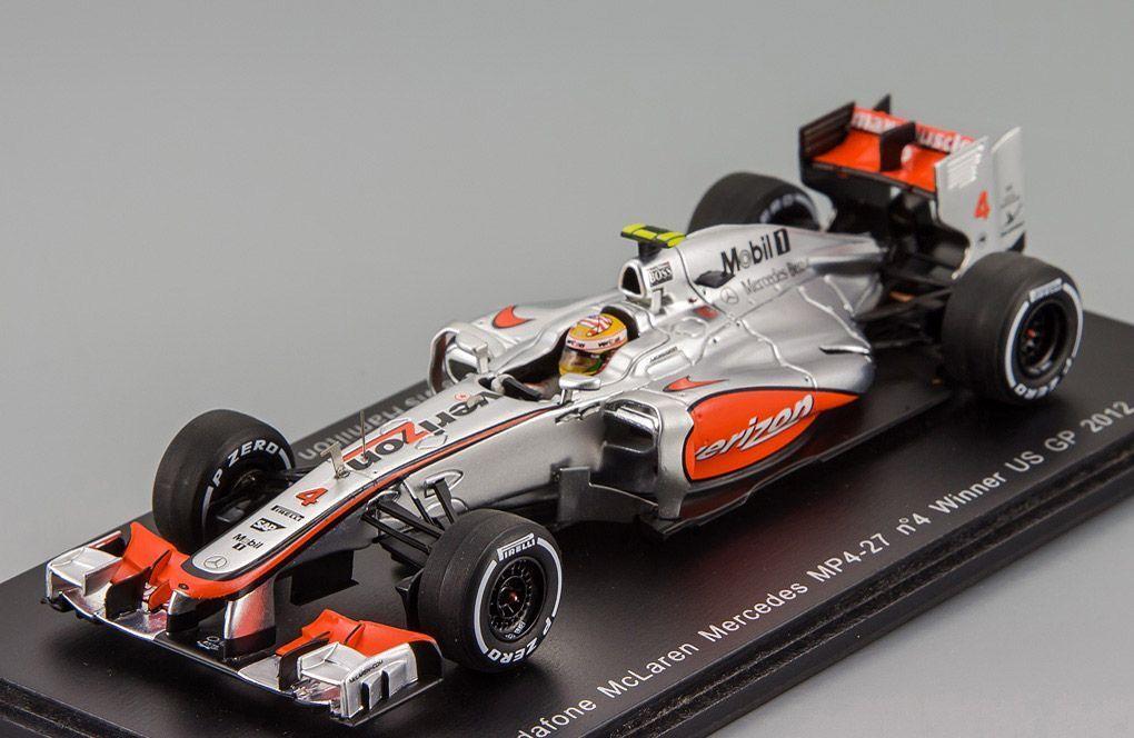 el mas reciente McLaren MP4-27  4 ganador nos Grand Prix 2012 L. L. L. Hamilton Spark 1 43 S3048  se descuenta