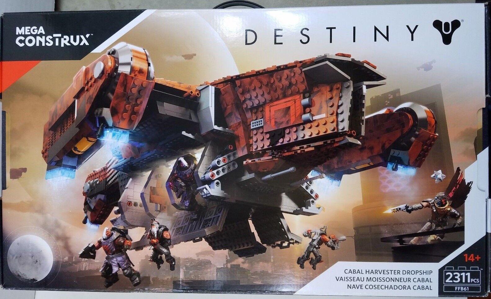 Mega Construx Destiny 2 Cabal Harvester New   2311 pcs