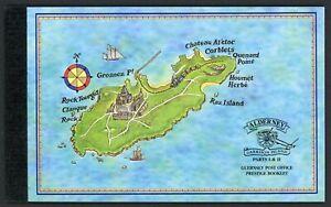 Alderney Markenheftchen MiNr. 1 postfrisch MNH komplett (C726