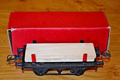 Vintage Boxed Hornby Series Meccano O Gauge No 1 Timber Wagon Vendita Calda Di Prodotti