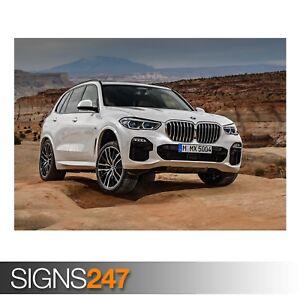 BMW-X5-XDRIVE30D-M-SPORT-ZZ019-CAR-POSTER-Poster-Print-Art-A0-A1-A2-A3