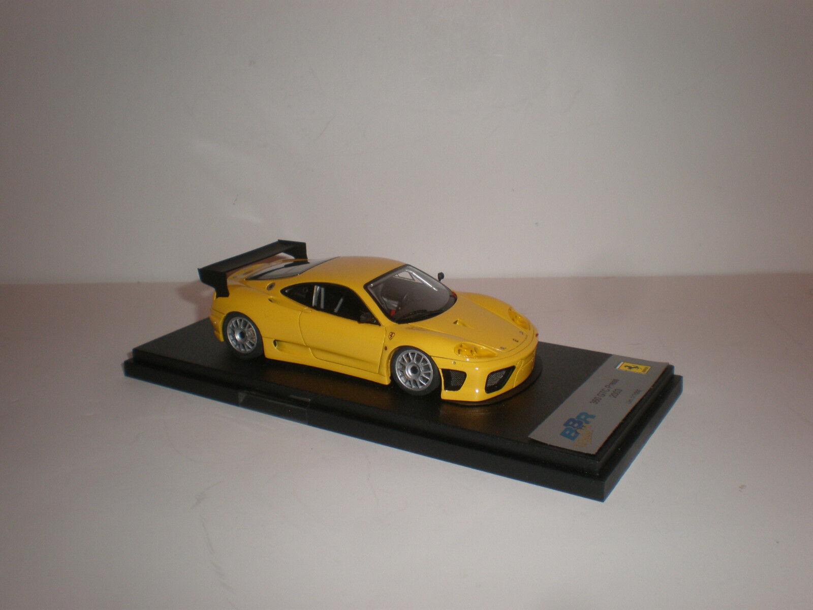 BBR Ferrari 360 GTC le falta AmarilloBG251