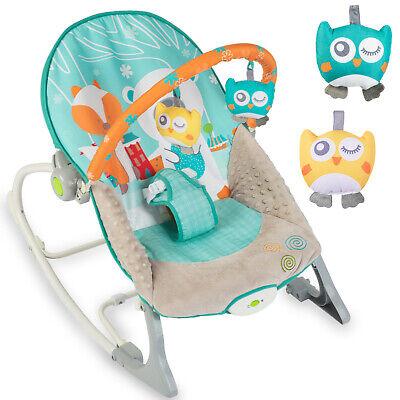 Babywippe Babyschaukel Babyliege Schaukelsitz  Baby Wippe Schaukel Vibration