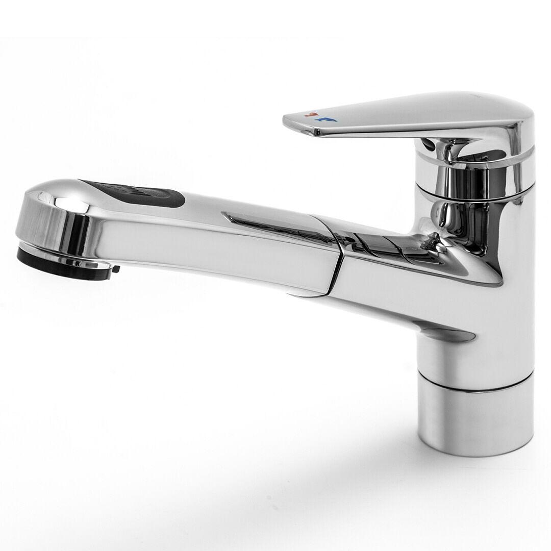 KWC ORCINO B 10.071.033.000FL Küchen Armatur mit Brause Wasserhahn Auszugsbrause