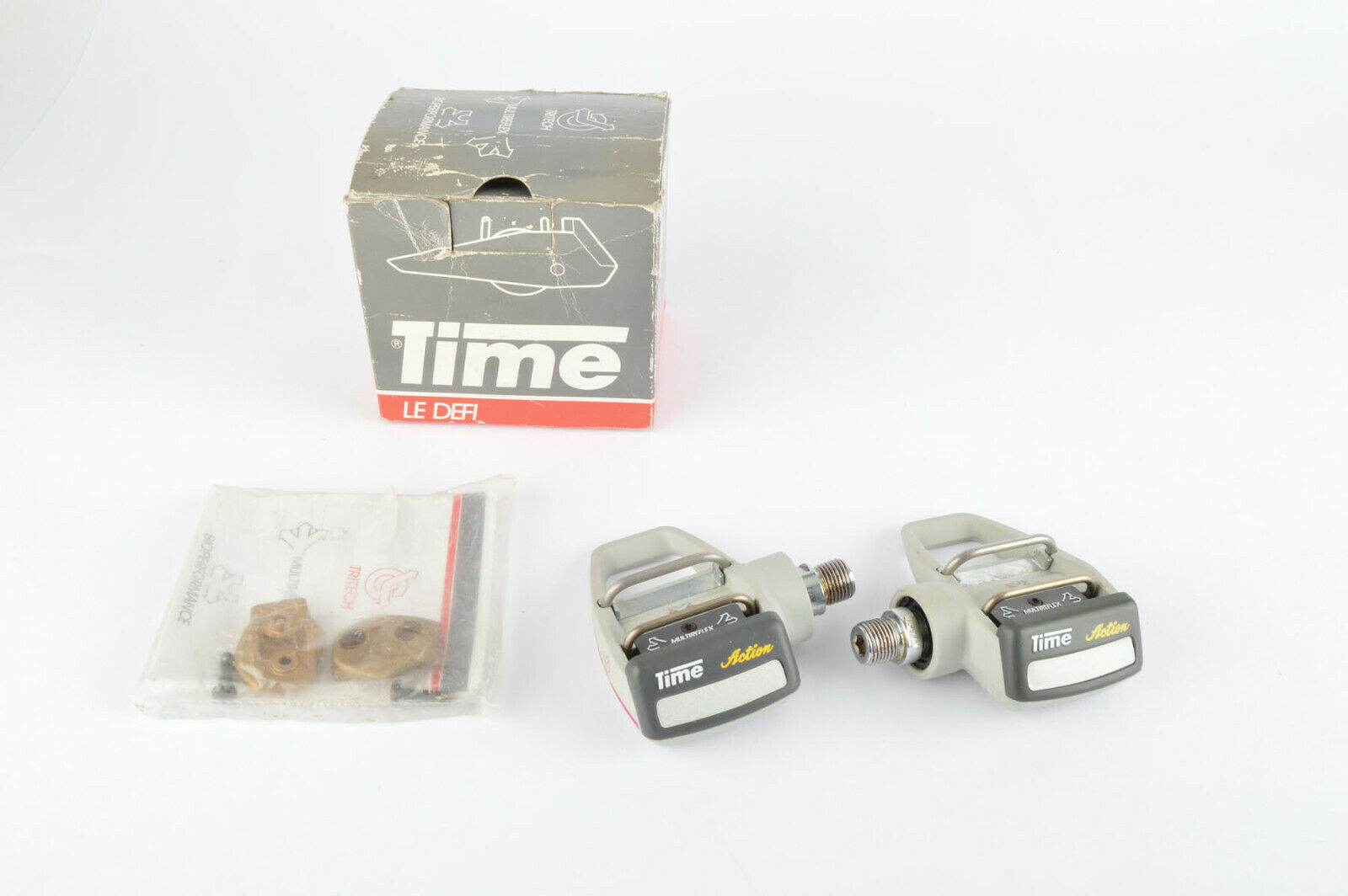 NOS NIB Time Action Clipless Pedals and Cleats from the 1990s  | Sonderpreis