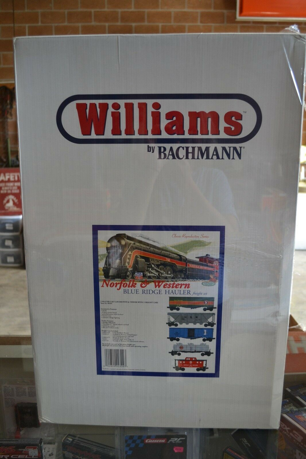 Williams by Bachmann 00304 Norfolk & Western bluee bluee bluee Ridge Hauler Train Set - NIB 09c773