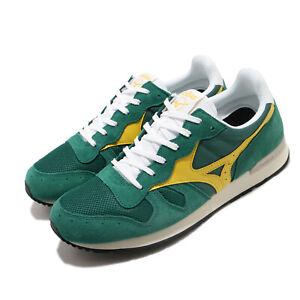 Mizuno-GV87-RunBird-Green-Yellow-Men-Running-Casual-Shoes-Sneakers-D1GA1905-32