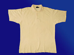 Herren-Freizeithemd-Polohemd-Poloshirt-T-Shirt-Gr-L-v-MONTE-CARLO-Mode-gelb