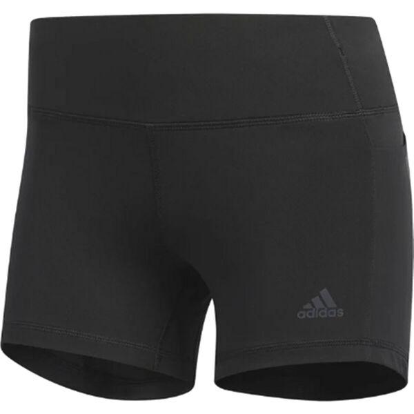 adidas Damen Sport Fitness Trainings Shorts Response kurze Tight Schwarz ED9316